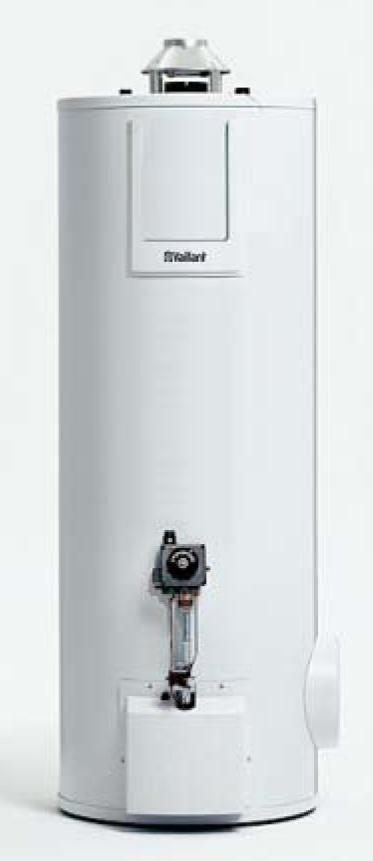 Gasgestookte boiler